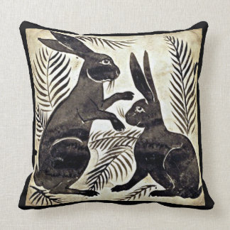 William De Morgan Rabbits Kissen