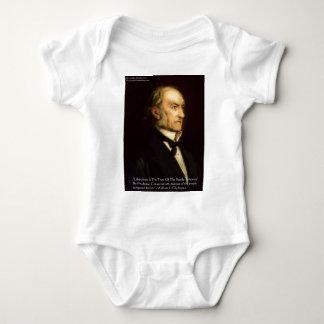 "William Gladstone ""Liberale u. konservative"" Baby Strampler"
