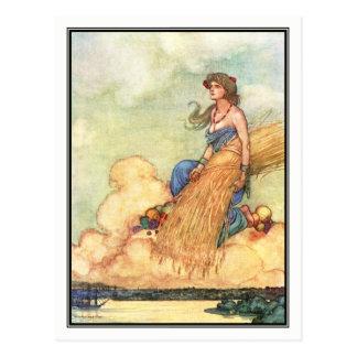 William-Heide Robinson - ein Lied Englisch Postkarte