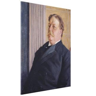 WILLIAM HOWARD TAFT durch William-Valentinsgruß Leinwanddruck