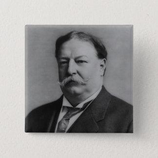 William Howard Taft Quadratischer Button 5,1 Cm