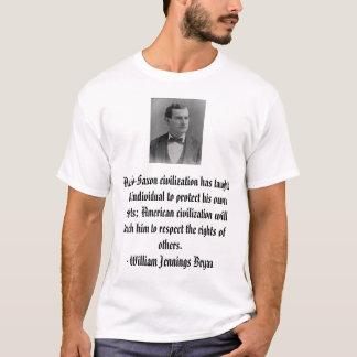 William Jennings Bryan, angelsächsisches T-Shirt