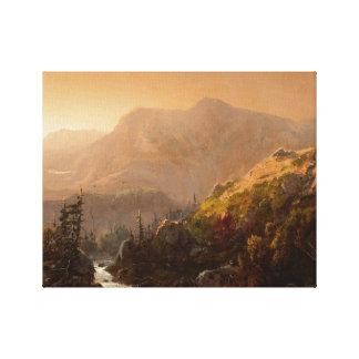 William Louis Sonntag - Herbst-Landschaft Leinwanddruck