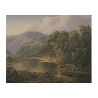 William Louis Sonntag - Landschaft Holzwanddeko