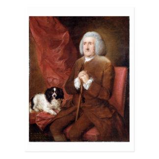 William Lowndes (1652-1724), Wirtschaftsprüfer von Postkarte