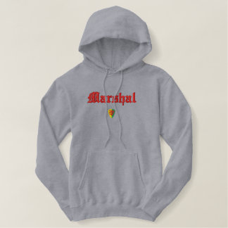 William-Marschall-Wappen stickte Hoodie