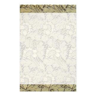 William Morris-Anemonen-Muster Briefpapier