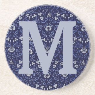 William Morris-Augentrost-Entwurf Sandstein Untersetzer
