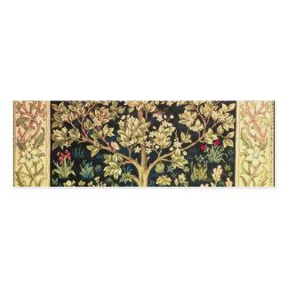 William Morris-Baum des Lebens Jumbo-Visitenkarten