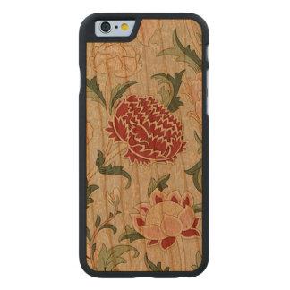 William Morris Cray BlumenPre-Raphaelite Vintag Carved® iPhone 6 Hülle Kirsche