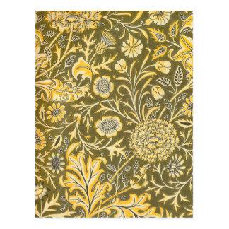 William Morris der Cherwell Entwurf für Postkarte
