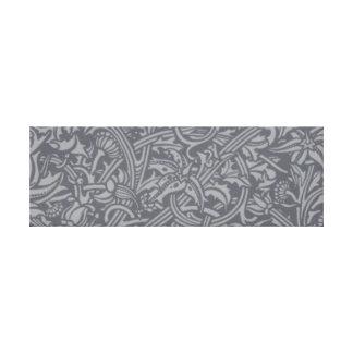 William Morris-Distel-Blumenkunst Nouveau Muster Leinwanddruck