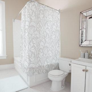 William Morris-Distel-Muster-Gewohnheits-Farbe Duschvorhang