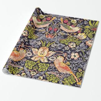 William Morris-Erdbeerdieb-Blumenkunst Nouveau Geschenkpapier