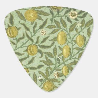 William Morris-Granatapfel-Frucht-Entwurf Plektrum