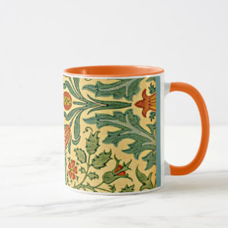 William Morris - Herbst-Blumenmuster Tasse
