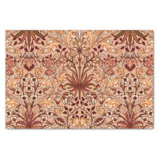 William Morris-Hyazinthen-Druck, Brown und Beige Seidenpapier