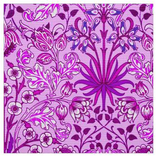 William Morris-Hyazinthen-Druck, Lavendel und Stoff