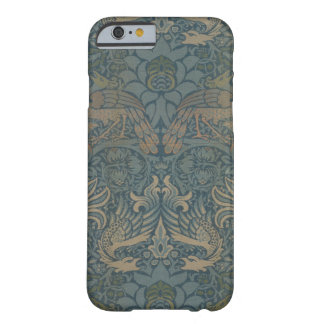 William Morris-Pfau und Drache GalleryHD Barely There iPhone 6 Hülle