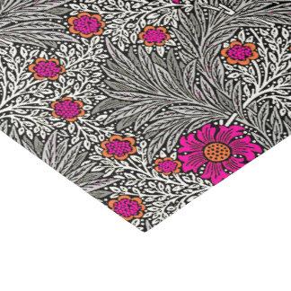 William Morris-Ringelblume, Graues/Grau und Weiß Seidenpapier