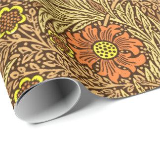 William Morris-Ringelblume, kupfernes Brown und Geschenkpapier