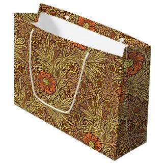 William Morris-Ringelblume, kupfernes Brown und Große Geschenktüte