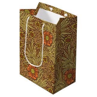 William Morris-Ringelblume, kupfernes Brown und Mittlere Geschenktüte