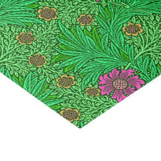 William Morris-Ringelblume, Smaragdgrün u. Fuchsie Seidenpapier