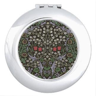 William Morris-Schlehdorn-Tapisserie-Kunst-Druck Taschenspiegel