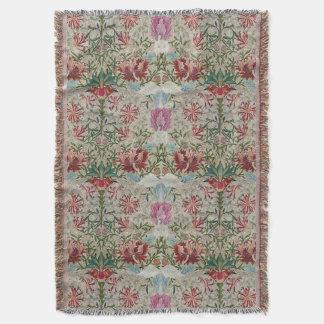 William Morris-Stickerei Decke