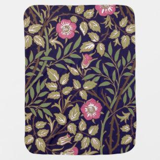 William Morris süßer Briar-Blumenkunst Nouveau Babydecke