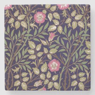 William Morris süßer Briar-Blumenkunst Nouveau Steinuntersetzer