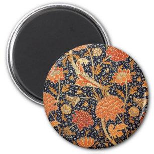 William Morris-Tapete Cray Entwurf Runder Magnet 5,7 Cm
