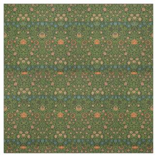 William Morris-Tapisserie-Wolldecke-roter grüner Stoff