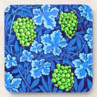 William Morris-Weinstock, Kobalt-Blau Untersetzer
