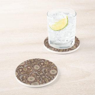 William Morris wenig Blumen-Teppich Sandstein Untersetzer