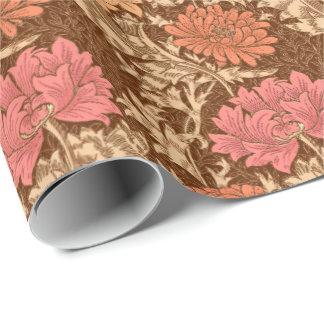 William Morrischrysanthemen, -brown und -rost Geschenkpapier