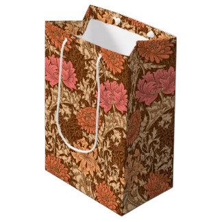 William Morrischrysanthemen, -brown und -rost Mittlere Geschenktüte