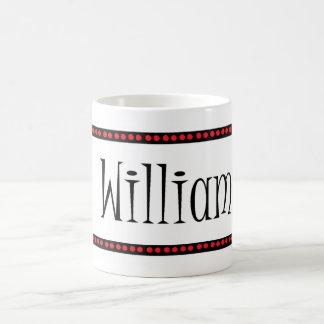 William-Name Kaffeetasse