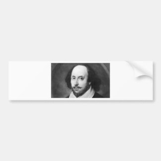 William Shakespeare Autoaufkleber