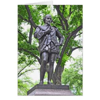 William Shakespeare - Central Park Karte