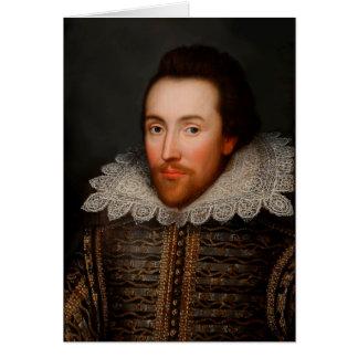 William Shakespeare Grußkarte