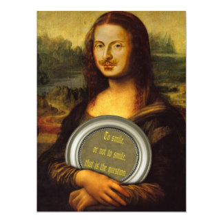 William Shakespeare-Parodie 16,5 X 22,2 Cm Einladungskarte