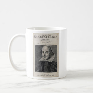 William Shakespeare-Porträt Kaffeetasse