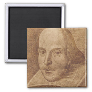 William Shakespeare Quadratischer Magnet