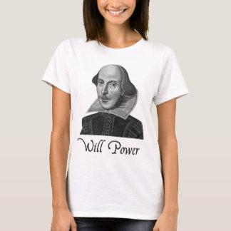 William Shakespeare wird Power T-Shirt