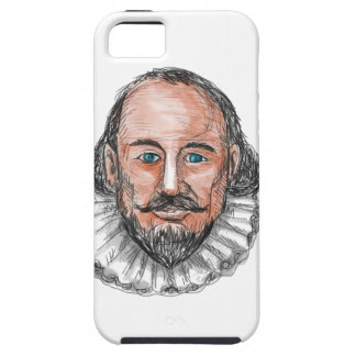 William ShakespearehauptAquarell iPhone 5 Schutzhülle
