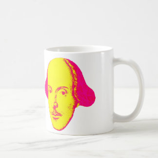 William- ShakespearePop-Kunst-Tasse Kaffeetasse