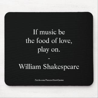 William- Shakespearezitat-Liebe Mousepad
