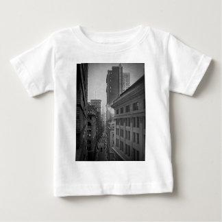 William-Straße Nord vom Austausch-Platz New York Baby T-shirt